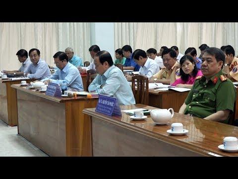 Chủ tịch UBND Vương Bình Thạnh chỉ đạo tăng cường công tác quản lý Nhà nước về TT ATGT
