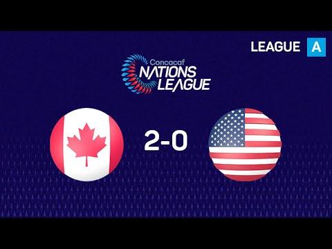 Канада - США 2:0. Видеообзор матча 16.10.2019. Видео голов и опасных моментов игры