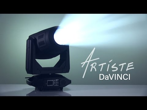 Elation Artiste DaVinci, High Powered 270W LED Spot Luminaire