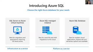 Azure SQL: What to use when by Anna Hoffman