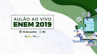 Confira o aulão Enem 2019 (Ao Vivo) – Brasil Escola