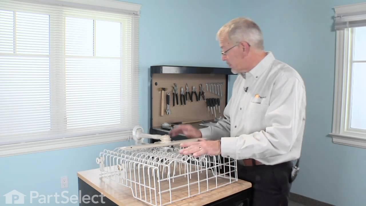 Replacing your Kenmore Dishwasher Seal, Lower Sprayarm