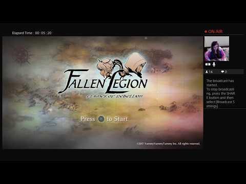 Fallen Legion PS+ R-e-nCZ Stream