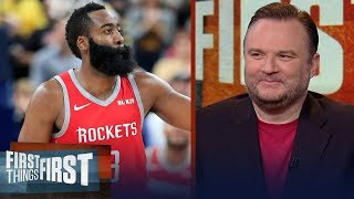 Daryl Morey on Harden's impressive season, Melo 'experiment' & Warriors | NBA | FIRST THINGS FIRST