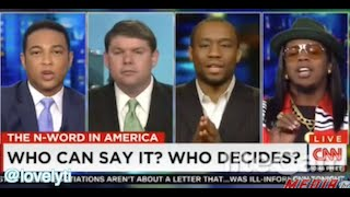 Trinidad James talks to Don Lemon about the use of the N-word in rap