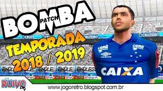 Bomba Patch União Pi com Brasileirão 2018 (Temporada 2018 / 2019) no Playstation 2