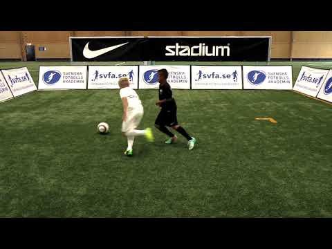 Cruyff-vändning efter mottagning