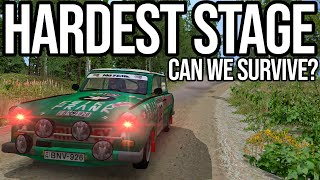 Can I Survive One Of The Hardest Stages In Richard Burns Rally?