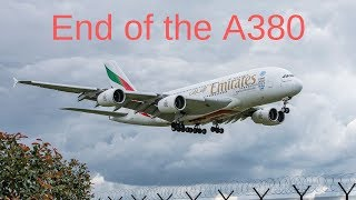 Airbus ENDS A380 Production As Emirates CANCELS ORDERS | AviationNews |