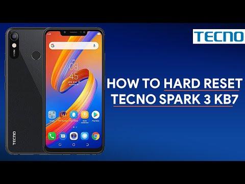 How To Hard Reset Tecno Spark 3 KB7 - [romshillzz]