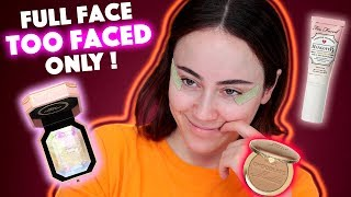 Full Face using only TOO FACED 🔥 | too faced Makeup First Impression | Hatice Schmidt - Video Youtube