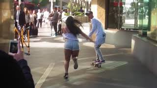 Justin Bieber skating in sydney  sorry song love yourself baby