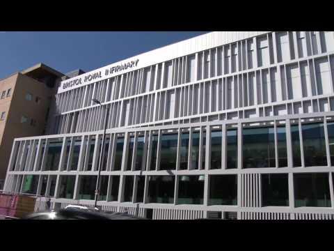 d+b facades - Bristol Royal Infirmary