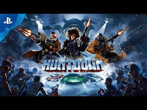 《HUNTDOWN》 PS4新遊戲預告