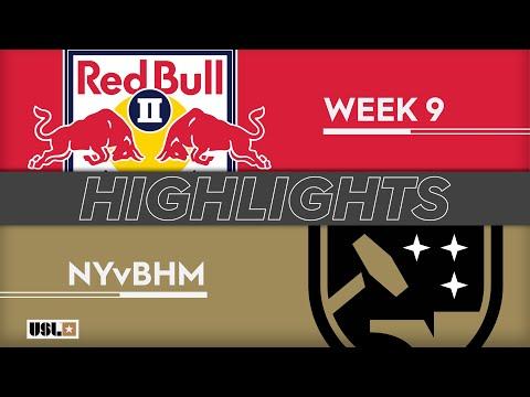 Нью-Йорк Ред Буллз-2 - Бирмингем 5:0. Видеообзор матча 02.05.2019. Видео голов и опасных моментов игры