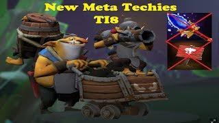 Dota 2 Bug Techies New Meta (TI8 + OG Team Spray)
