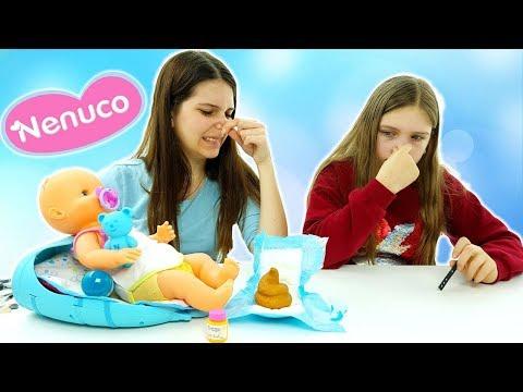 Nenuco Famosa Borsa Fasciatoio: Cambiamo I Pannolini Puzzolenti Alla Nostra Bambola