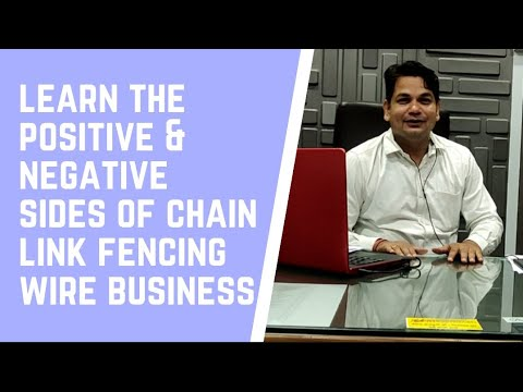 Production Cost and Selling Price of GI Wire Chain Link Fencing Mesh - Dilip Shrivastava