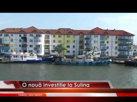 O nouă investiţie la Sulina – VIDEO