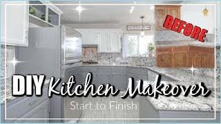 Extreme Kitchen Makeover | Modern Farmhouse Style, Step By Step | Momma From Scratch