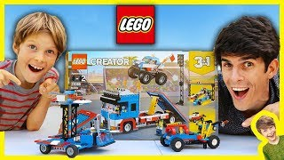 Axel Show Lego City Trucks Build-off!