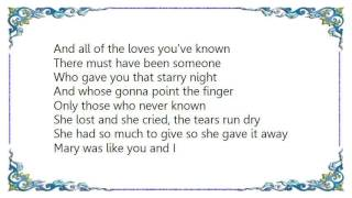 Chris Rea - She Gave It Away Lyrics