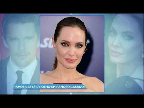 Angelina Jolie está interessada em galã de Hollywood casado