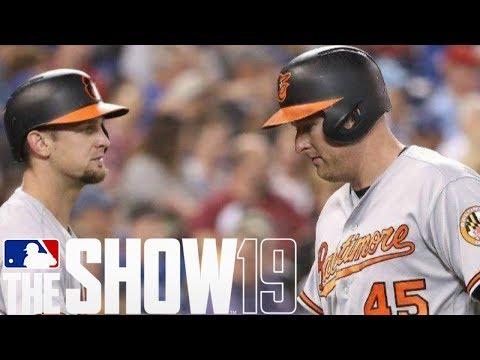 MLB The Show 19 Franchise Mode - MARK TRUMBO SENDS THE BALL FLYING