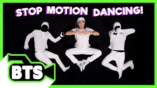 Making a Stop Motion Dance! (BTS)