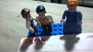 Binyan Blocks - Jewish Lego-Compatible figures.
