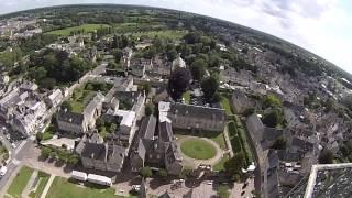 preview picture of video 'Montée au lanternon de la cathédrale de Bayeux'