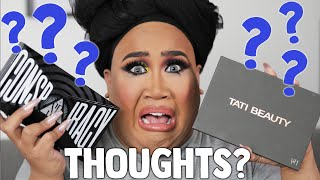 Shane Dawson Conspiracy Palette vs Tati Beauty Palette Review | PatrickStarrr