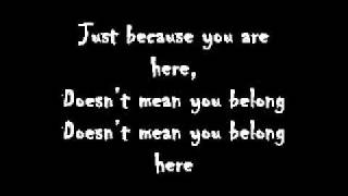 78Violet-Belong here Lyrics.