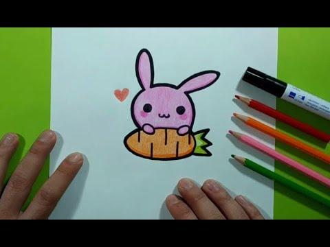 Como dibujar un conejo paso a paso 9 | How to draw a rabbit 9