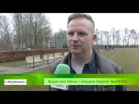 VIDEO | Trainer Arjan ten Hove hoopt dat Swift'64 promoveert naar tweede klasse