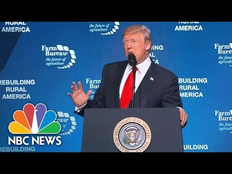 President Donald Trump Speaks At Farming Convention In Nashville | NBC News