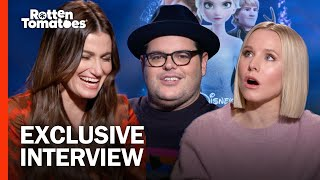 'Frozen II' Stars Kristen Bell, Idina Menzel, and Josh Gad Fantasy-Cast a Live-Action 'Frozen' Movie