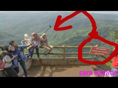Video Unik Aneh - Foto sekelompok remaja di tempat wisata