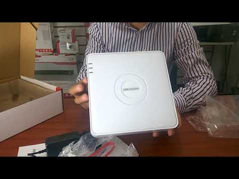 Dvr Grabador Hikvision 7200 de 4 canales HD 720 pixeles