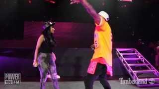 Chris Brown & Nicki Minaj LIVE - 'Take It To The Head' - PowerHouse 2013