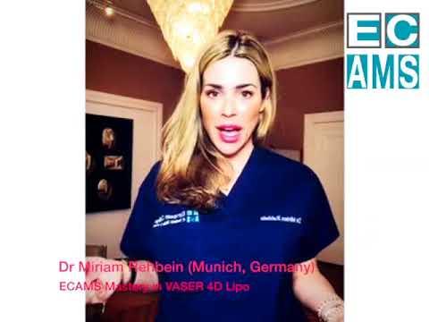 Vaser 4DLipo master course testimonial - Dr. Miriam Rehbein