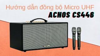 Dàn Âm Thanh Di Động ACNOS CS450