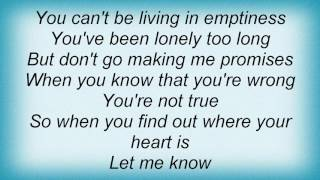 10cc - Don't Turn Me Away Lyrics