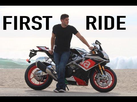 2016 Aprilia RSV4 RF - First Ride & Review