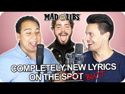 """Post Malone - """"Circles"""" MadLibs Cover (LIVE ONE-TAKE)"""