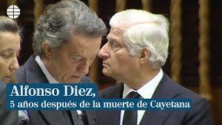 Alfonso Diez, cinco años después de la muerte de Cayetana