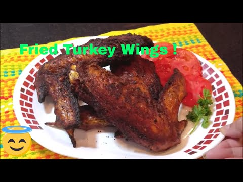 Fried Turkey Wings Southern Style: How to Make