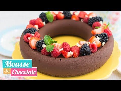 MOUSSE DE CHOCOLATE | Fácil y deliciosa | Quiero Cupcakes!