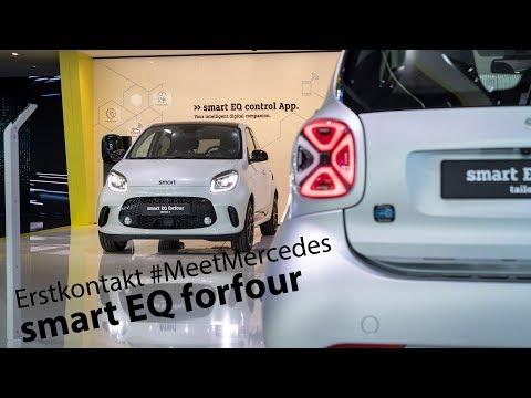 Erstkontakt: smart EQ forfour / fortwo - neues Infotainment #MeetMercedes - Autophorie