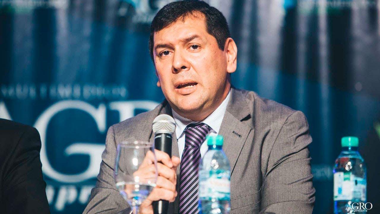 Cristian Alcides Ocampo - Ministro de Hacienda y Finanzas Públicas del Chaco